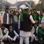 صورتحساب های مزرعه: تجمع کشاورزان در مرز دهلی و نویدا ، اعتراض |  اخبار